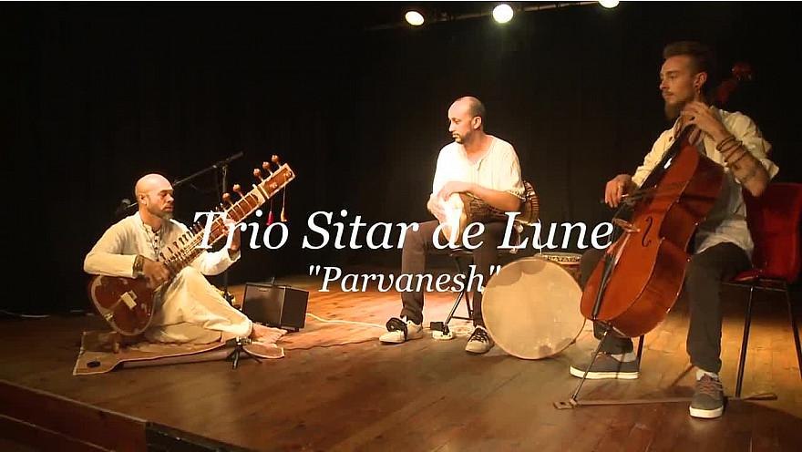 Sitar de Lune Trio au festival Acalmia 2020 de Toulouse interprète 'Parvanesh'